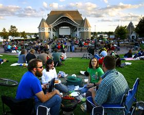 Lake Harriet Band Shell Music & Movies in the Parks