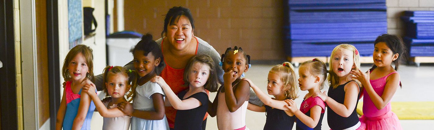 ballet class at mcrae recreation center