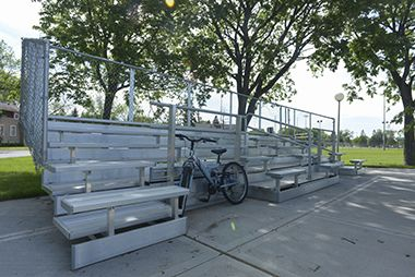NE_Athletic_Field_bleachers