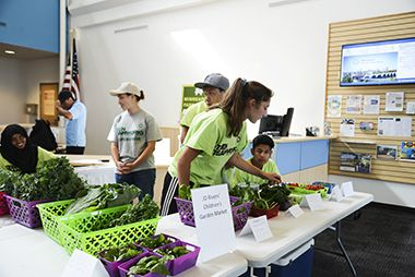 JD Rivers Childrens Garden_Farmers Market at HQ_1