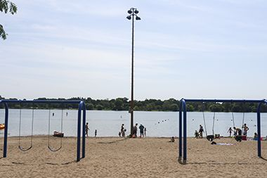 Lake Nokomis_Main Beach_playground2