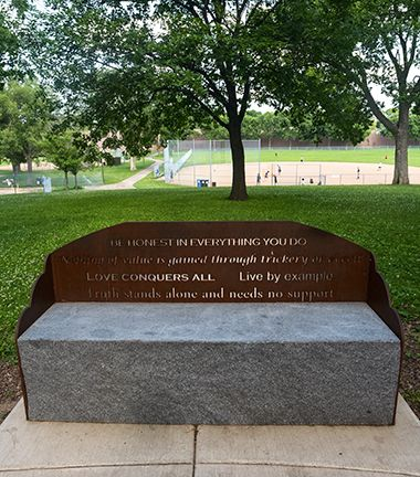 Rev_Martin_Luther_King_Park_bench
