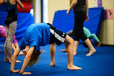Gymnastics at Audubon 2