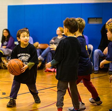 Fundamental Basketball at Matthews 4
