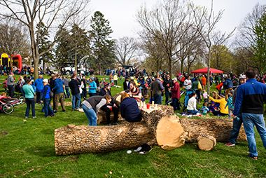 Arbor Day at Lake Hiawatha_2