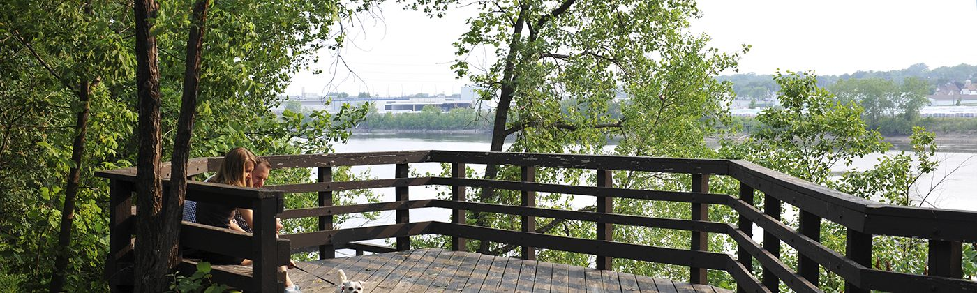 marshall terrace river overlook