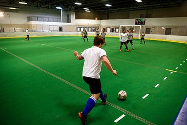 Adult Coed Indoor Soccer at NE Ice ArenA