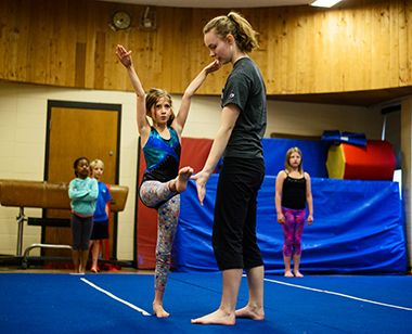 Gymnastics at Audubon 1