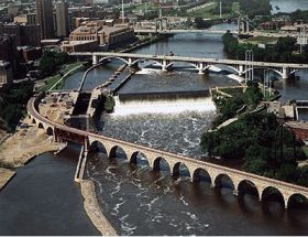 st. anthony falls on the mississippi river