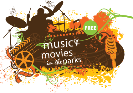 music and movies logo