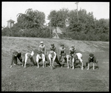 Playing_Football_Minneapolis_Park_Board_Minneapolis_Minnesota 1900-1930