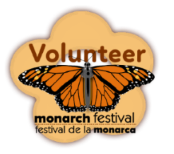 monarch festival volunteer logo