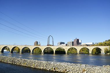Stone Arch Bridge_Mississippi River Cruises_Fall_2