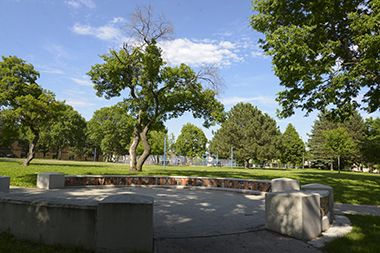 Bethune_Park_bench