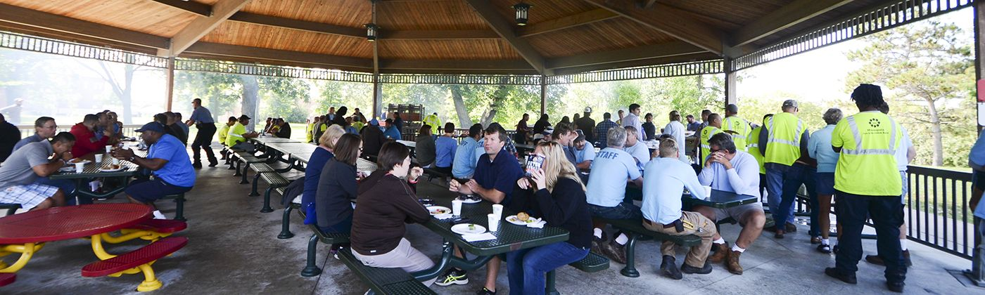 employee recognition picnic