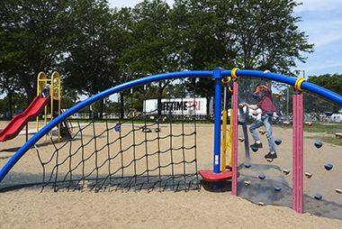 Lake Nokomis_Main Beach_playground1