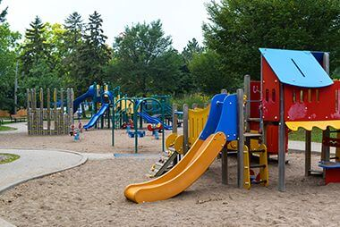 Playground with Sand