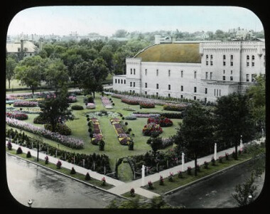Armory Garden from East Minneapolis, 1900-1930