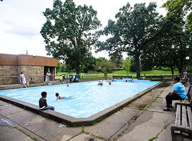 Wading Pool in the Summer