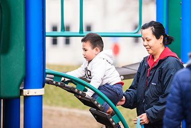 Playground Toddler Friendly