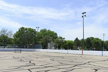 Concrete Hockey Rink