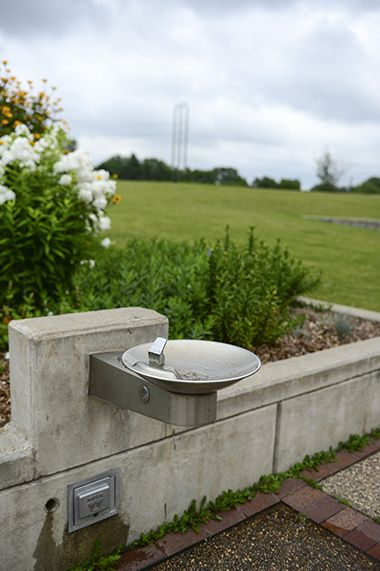 Drinking Fountain in Park