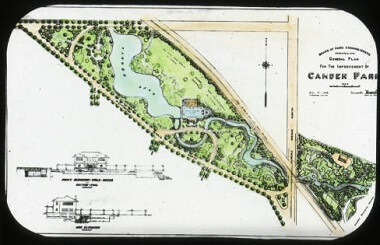 Camden Park General Plan, 1910