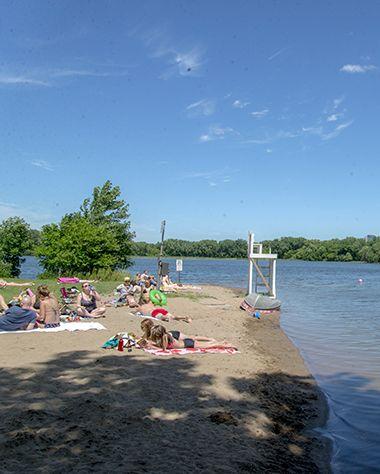 Cedar Lake Point Beach