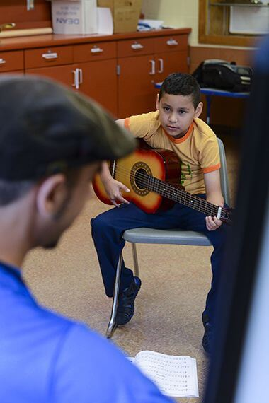 Music Lessons at Corcoran