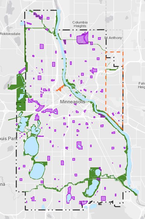 Interactive Project Map - Minneapolis Park & Recreation Board
