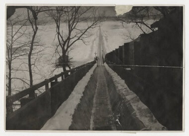 Lake Harriet Park toboggan slide, Feb. 19, 1914