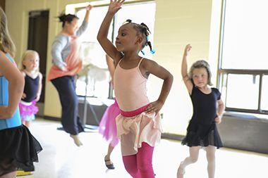Ballet Class at McRae
