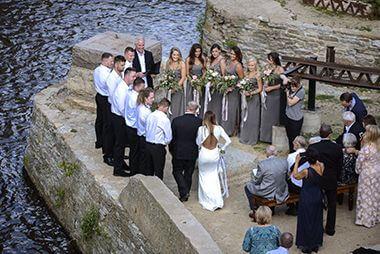 Wedding at Mill Ruins