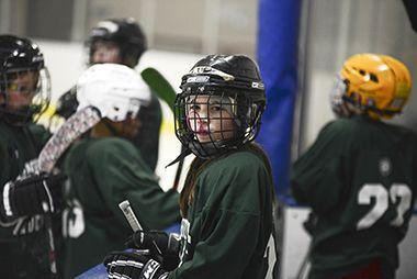 Indoor Ice Hockey
