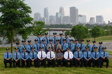 park police group photo