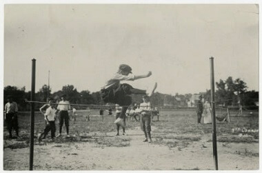 Track and field at North Commons Park, 1905-1915