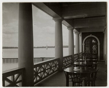 View of Lake Harriet from the Pavilion, 1920s