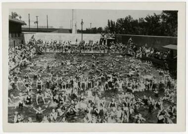 Webber Baths, Camden Park, 1920s