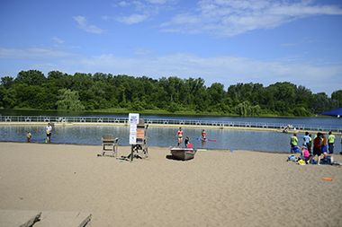 Wirth Lake Beach