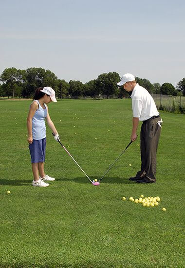 Teeing up Lessons