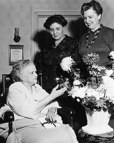 Maude Armatage's 90th Birthday in 1960