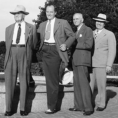 Heffelfinger Fountain Dedication in 1947