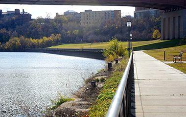Riverfront Views