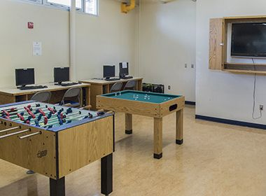 Computer and Game Room