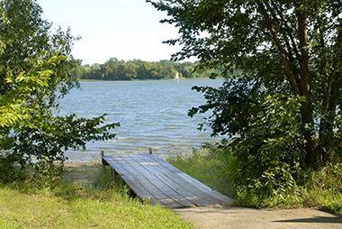 Lake Nokomis Canoe Dock