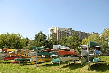 Bde Maka Ska Canoe/Kayak Racks