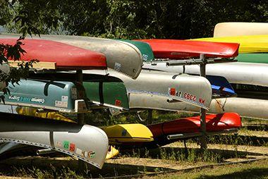 Lake Harriet Canoe/Kayak Rack