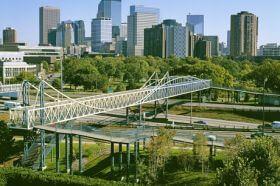 Irene Hixon Whitney Bridge, Siah Armajani, 1988