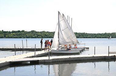 Lake Harriet Boat Dock