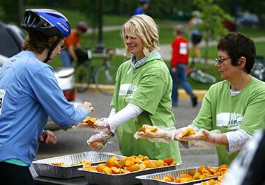 Volunteer & Give